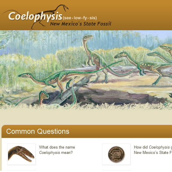 Coelophysis | New Mexico's State Fossil