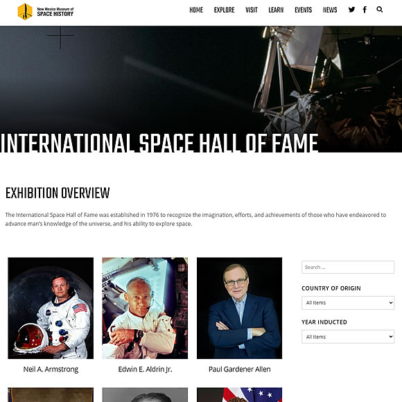 International Space Hall of Fame
