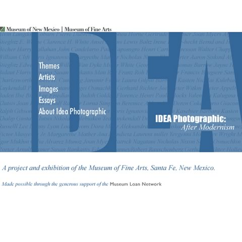 IDEA Photographic: After Modernism