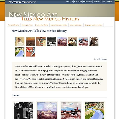 New Mexico Art Tells New Mexico History